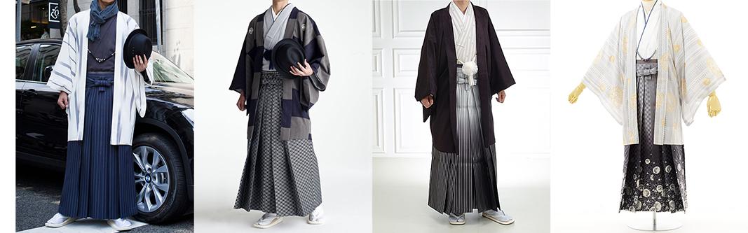 男性成人レンタル羽織袴