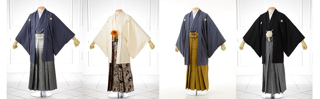 成人男性レンタル羽織袴